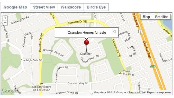 Cranston Community Map
