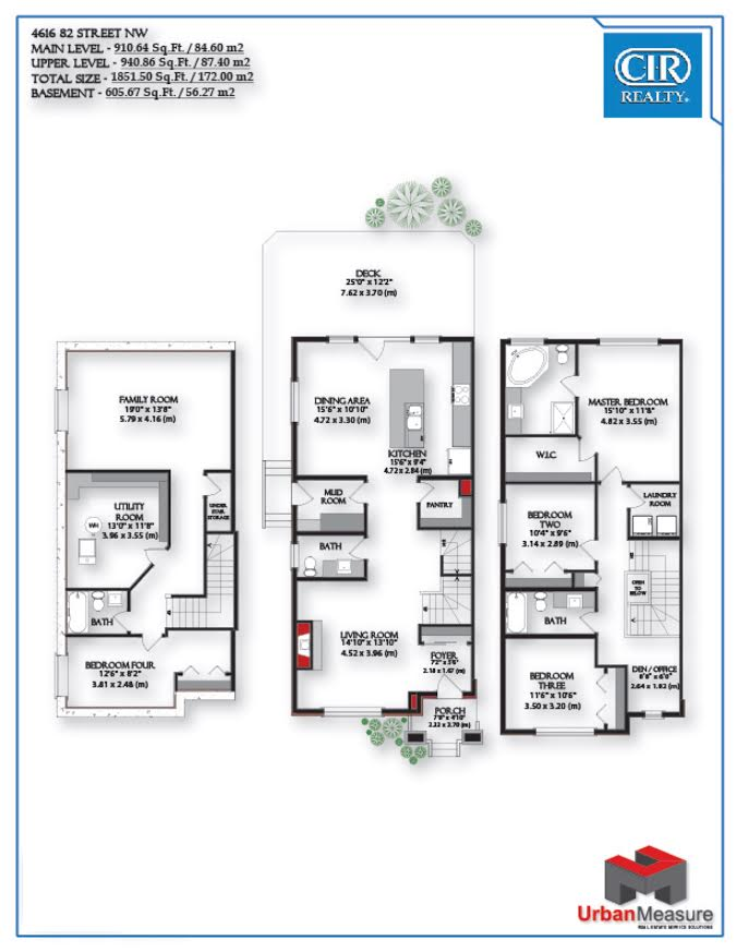 Floor Plan 4616 82 St NW